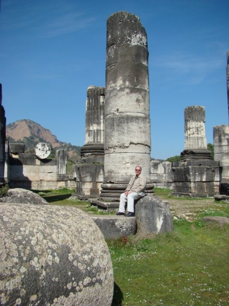 Sardis Temple of Artemis. Photo by Martha Felker