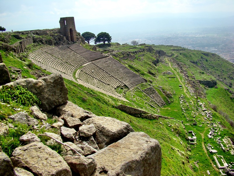 Pergamum, where Satan's throne was located  Leons Message Board