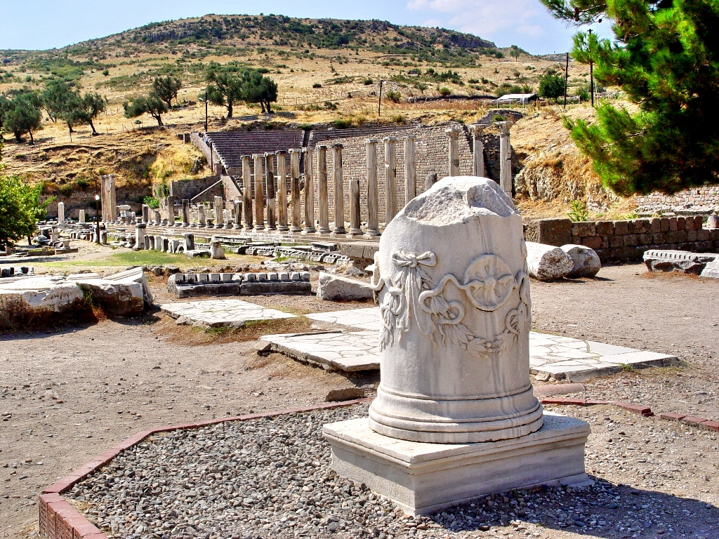At Pergamum, the Asklepieion  Leons Message Board