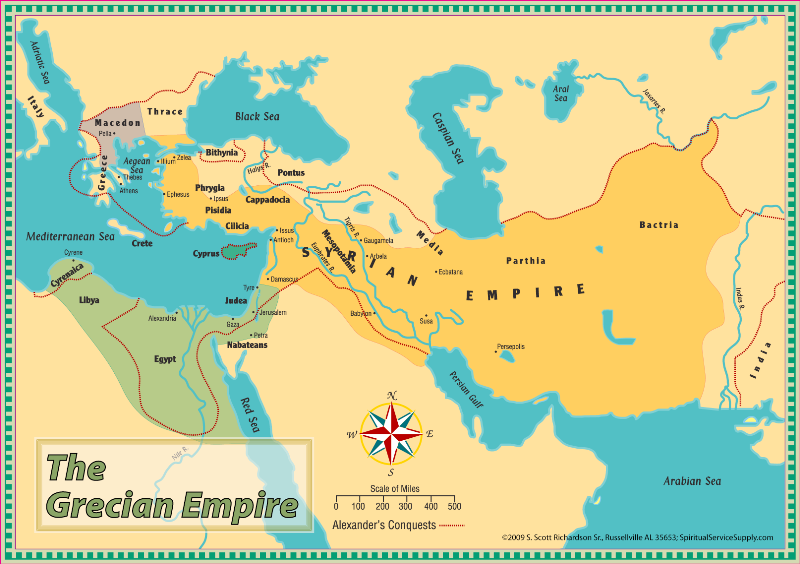 greek empire Periods historians often divide up the history of ancient greece into three periods: archaic period - this period ran from the start of greek civilization in 800 bc to the introduction of democracy in 508 bc.