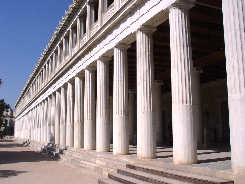 a comprehensive analysis of the stoa of attalos Stoa of attalus in athens  zeno established the tripartite study of stoic  philosophy (see the three topoi[[hyperlink]]) comprising ethics, physics and logic   of the traditions of greek theology by cornutus is one of a handful of  complete stoic.