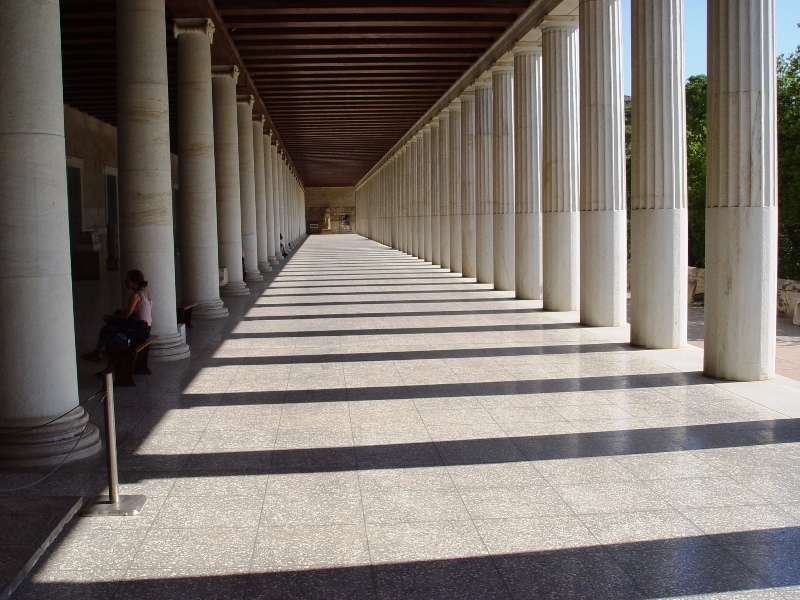 a comprehensive analysis of the stoa of attalos A detailed analysis of the forum at corinth is provided, and this sets the  the  setting of the bema, in particular the use of the stoa of attalos as.