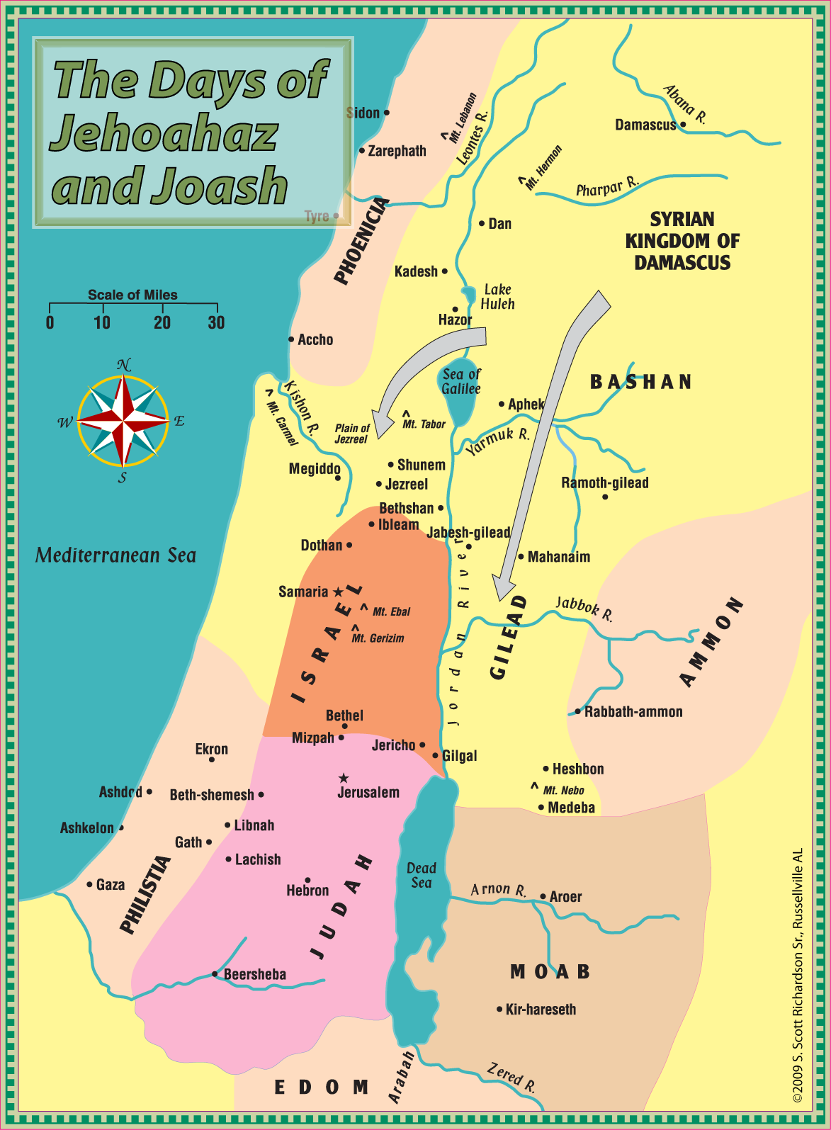 Jonah Was From Gath Hepher Leons Message Board - Map of old testament israel