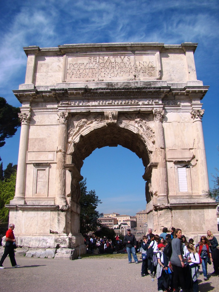 Arch of Titus | Leon's Message Board