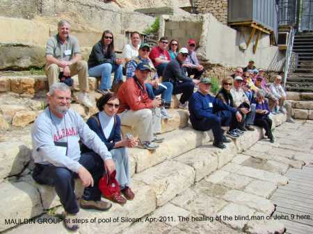 On Steps of Siloam. Mauldin Group 2011