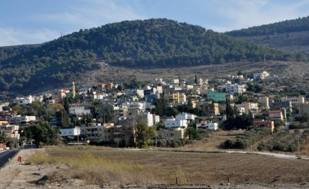Nain in Galilee where Jesus raised the widow's son. Photo by Leon Mauldin.
