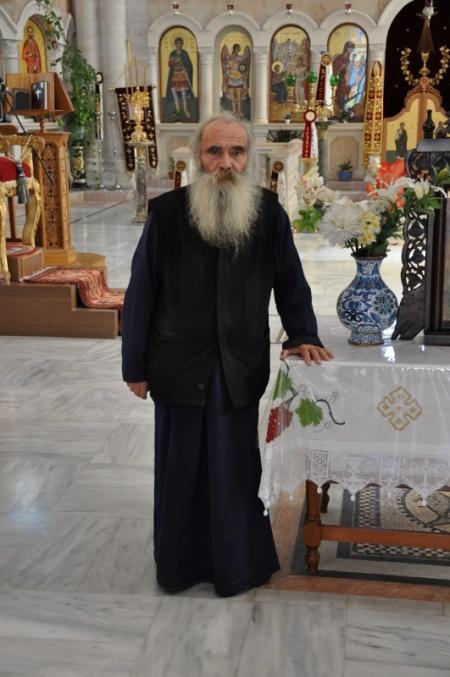 Shechem Jacob's Well Greek Orthodox church interior. Photo by Leon Mauldin.