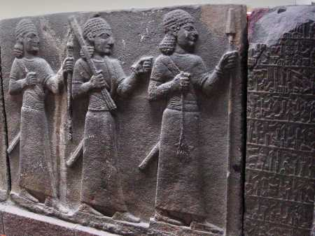 Hittite Warriors. Ankara Museum. Photo ©Leon Mauldin.