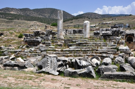 Temple of Apollo at Hierapolis. Photo by Leon Mauldin.