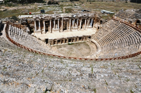 Hierapolis Theater. Photo by Leon Mauldin.