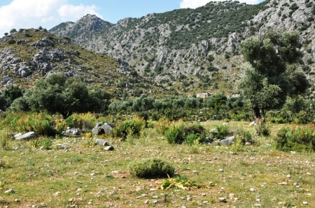 Pamphylian Plain Ends at Taurus Mountains. Photo by Leon Mauldin.