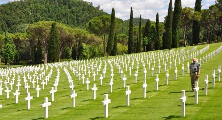 Florence American Cemetery. Photo by Leon Mauldin.