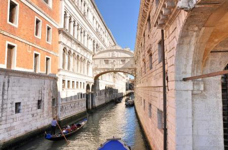 Bridge of Sighs in Venice. Photo ©Leon Mauldin.