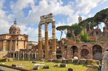 Forum of Julius Caesar. Photo ©Leon Mauldin.