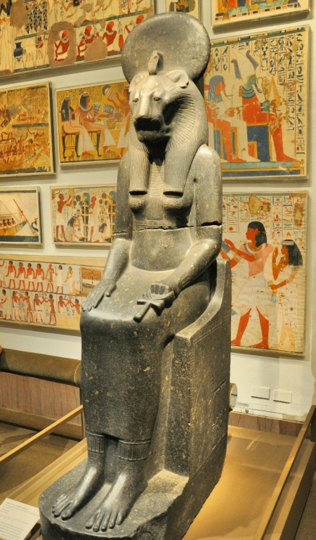 Goddess Sakhmet. Metropolitan Museum, NY. Photo by Leon Mauldin.