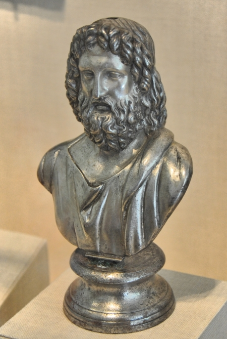 Serapis, Egyptian god of healing, assimilated by Romans. Photo by Leon Mauldin. Metro Museum NY.
