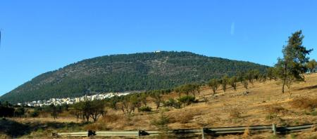 Mt. Tabor in Israel. Photo by Leon Mauldin.