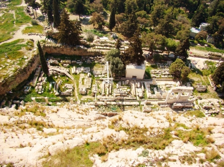 Athen's Sanctuary of Asclepius, the god of healing. Photo by Leon Mauldin.