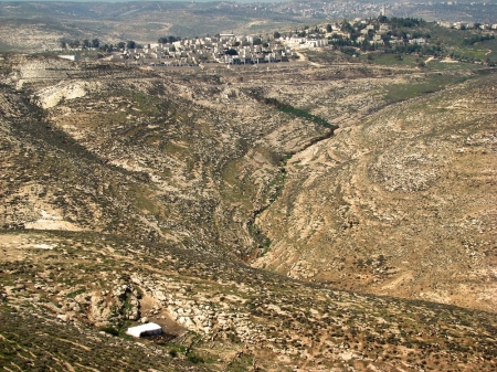 Michmash, area of battle between Israel and Philistia. Photo by Leon Mauldin.