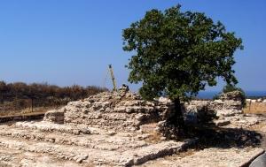 Roman temple at Troas. Photo by Leon Mauldin.
