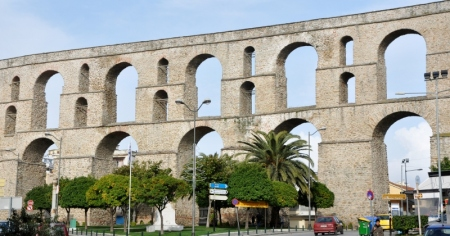Aqueduct of Suleiman the Magnificent at Neapolis.