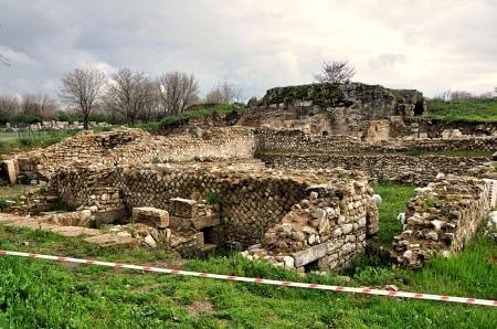 Troas Excavations. Photo by Leon Mauldin.