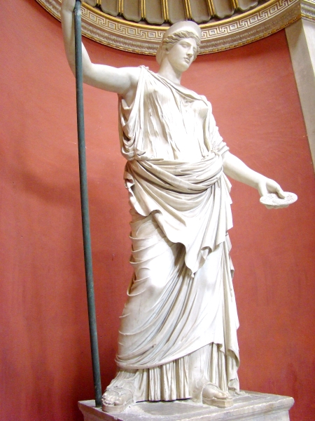 Hera, Vatican Museum. Photo by Leon Mauldin.