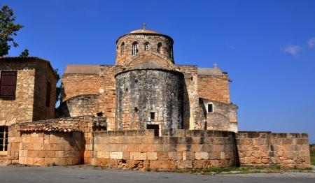 Salamis, Cyprus. Monastery of St. Barnabas. Photo by Leon Mauldin.