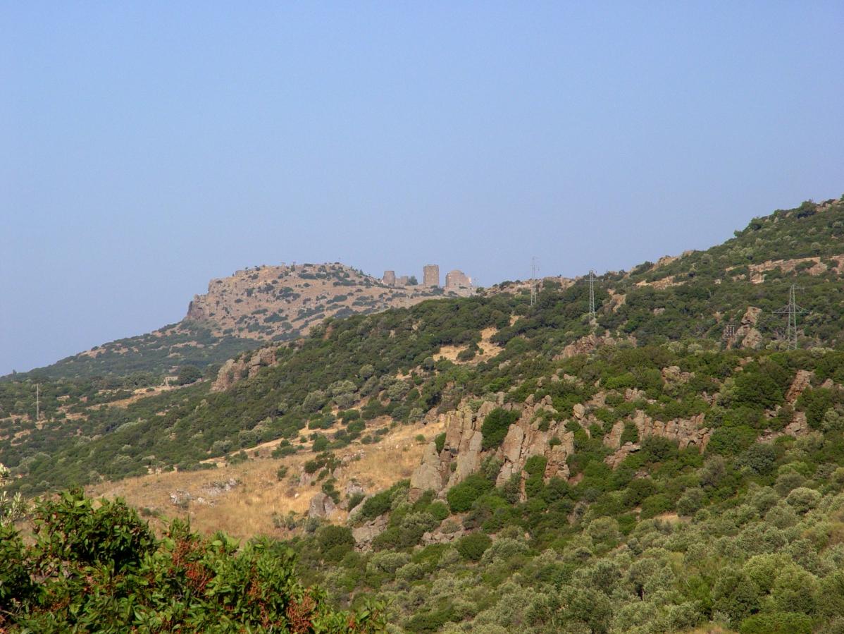 Acropolis of Assos. Photo by Leon Mauldin.