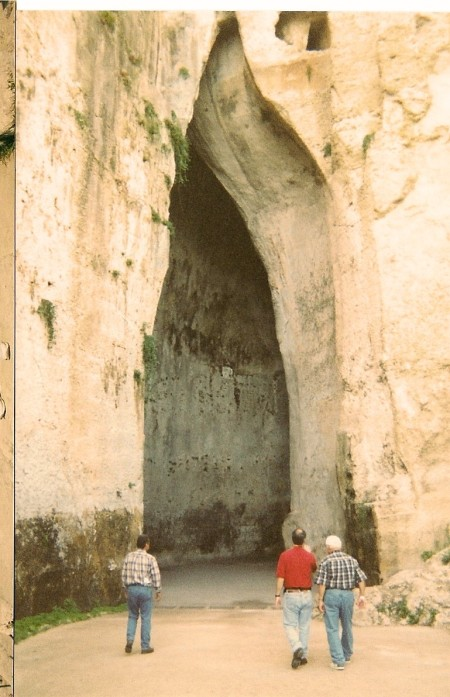 Ear of Dionysius at Syracuse. Photo supplied by Greg Picogna.