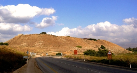 Tel Hazor, one of the cities Solomon fortified. Photo by Leon Mauldin.
