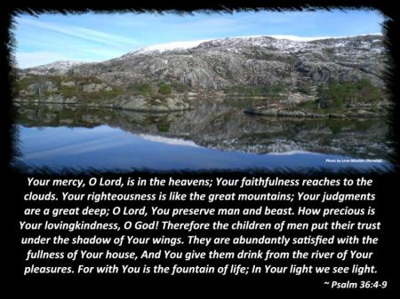 God's Handiwork in Norway. Photo by Leon Mauldin.