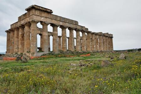 Temple of Hera at Selinunte. Photo by Leon Mauldin.