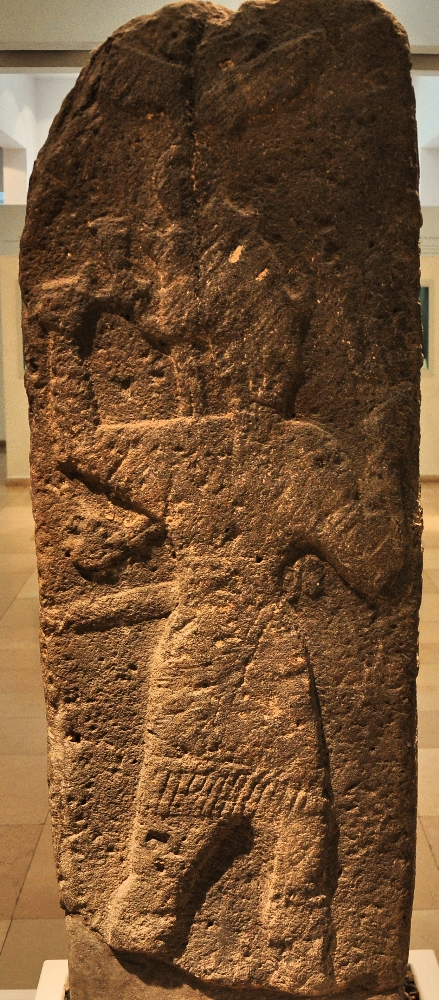 Baal, the god of rain in Canaanite mythology. Bible Lands Museum, Jerusalem. Photo by Leon Mauldin.