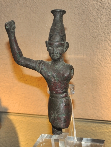 Baal, displayed at Hecht Museum at Haifa University, Israel. Photo by Leon Mauldin.
