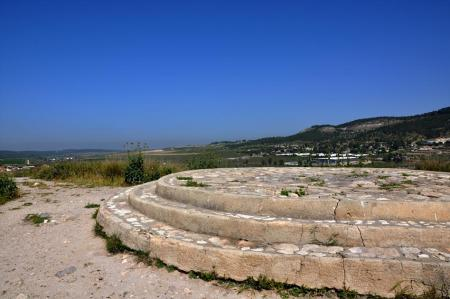 Beth Shemesh, where the ark was returned from the Philistines. Photo by Leon Mauldin.