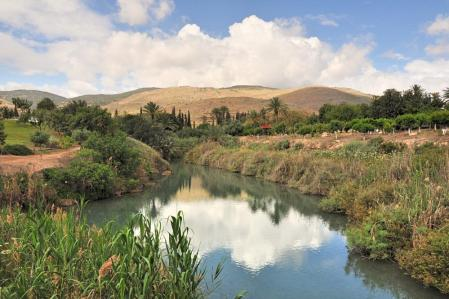 Beautiful Gan Hashlosha, Israel. Photo by Leon Mauldin.
