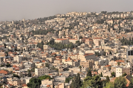 Nazareth in Galilee, Jesus' hometown. Photo ©Leon Mauldin.